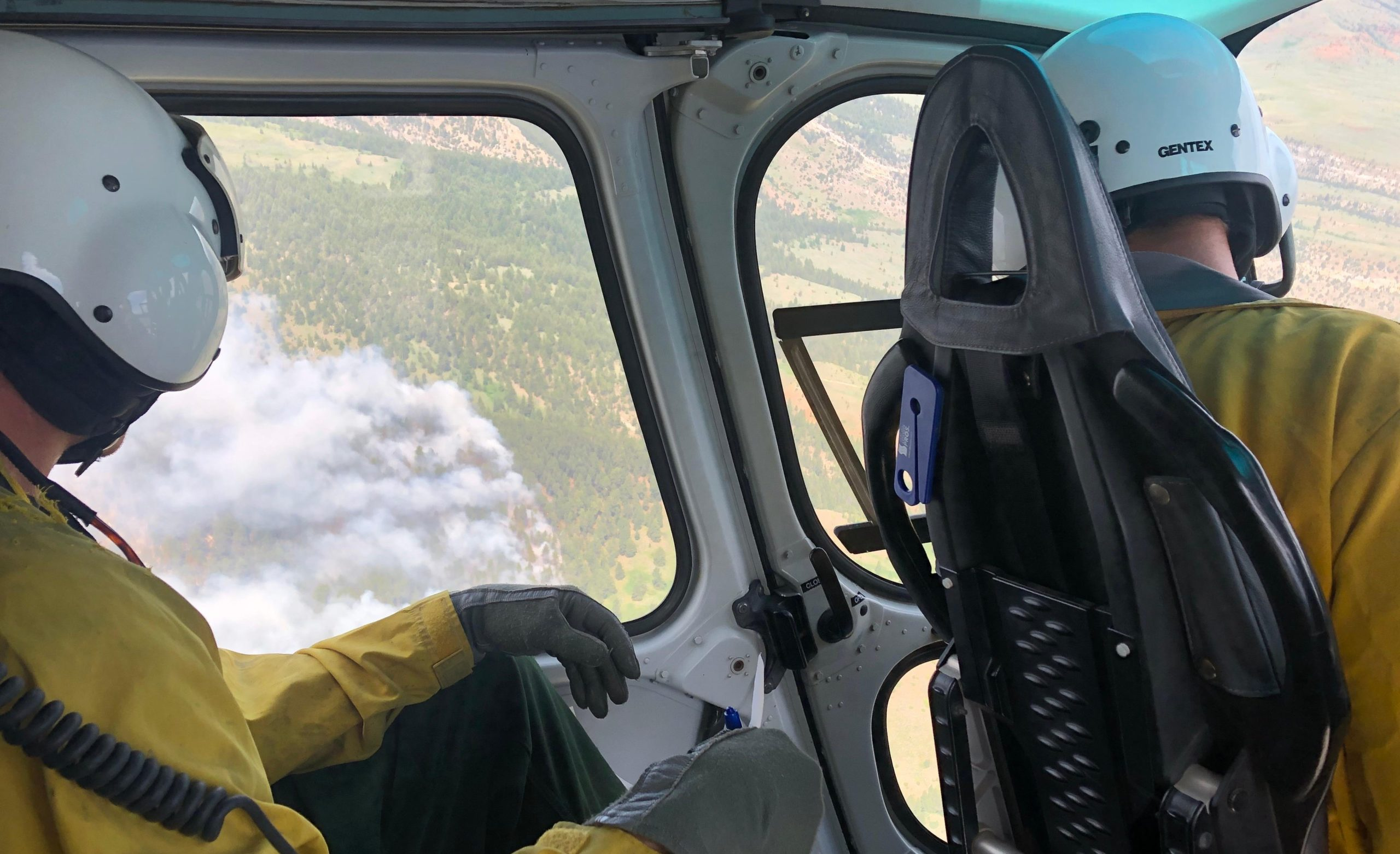 Crooked Creek Fire will only grow 200 acres in Red Flag conditions on Saturday